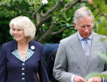 Image of Prince Charles and Camilla.